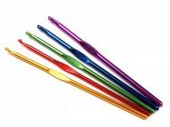 Háček na háčkování vel. 2-5,5 5 náhodná barva, 100 ks - zvětšit obrázek