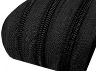 Zip spirálový 3 mm metráž pro jezdce typu ASIC 332 Black, 25 m - zvětšit obrázek