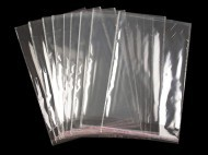 Celofánové sáčky s lepicí lištou 20x29 cm transparent, 100 ks - zvětšit obrázek