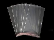 Celofánové sáčky s lepicí lištou 14x25 cm transparent, 12000 ks - zvětšit obrázek