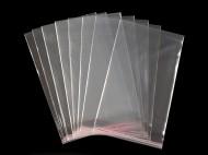 Celofánové sáčky s lepicí lištou 13x20 cm transparent, 21000 ks - zvětšit obrázek