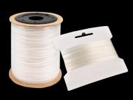 Silikonová pruženka / lastin šíře 4 mm elastická transparent, 1200 m - zvětšit obrázek