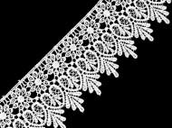 Vzdušná krajka šíře 70 mm 1 bílá, 13.5 m - zvětšit obrázek