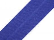 Šikmý proužek bavlněný šíře 20 mm zažehlený 500 344 modrá námořnická, 25 m - zvětšit obrázek