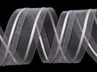 Záclonovka šíře 40 mm tužkové řasení transparent, 50 m - zvětšit obrázek