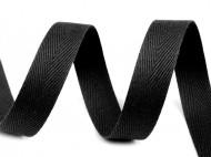 Keprovka - tkaloun šíře 18 mm 7001 černá, 50 m - zvětšit obrázek