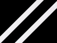Prádlová pruženka šíře 6-7 mm White, 300 m - zvětšit obrázek
