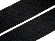 Pruženka hladká šíře 25 mm tkaná 1 černá, 25 m - zvětšit obrázek