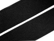 Pruženka hladká šíře 35 mm tkaná 1 Black, 25 m - zvětšit obrázek