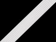 Popruh polypropylénový šíře 15 mm 01 bílá, 5 m - zvětšit obrázek